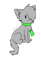 Chibi Olivewhisker~ by ghost--scarves