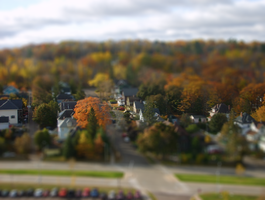 A Town In Miniature by skywalcker