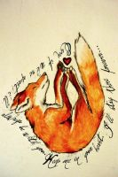 Fox Tattoo by TrixKibbles