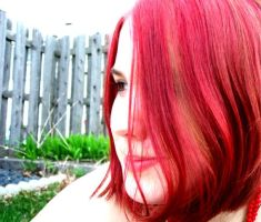 +red hair stock+ by StarLightStock