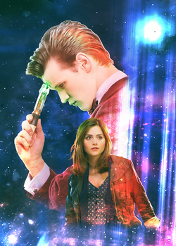 The Doctor and Clara by Esterath13