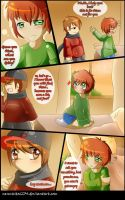 Relay Comic :: Somebody p7 by nennisita1234