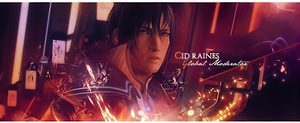 Final Fantasy XIII Cid Sig by Mercuphoria