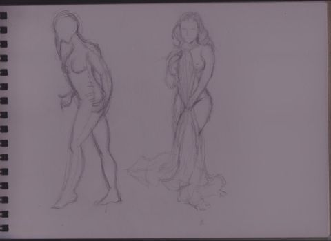Quick drawing - figures by animatoranne