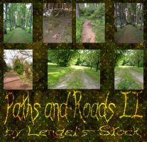 Paths and Roads Pack II by Lengels-Stock