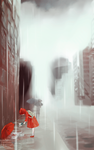 Red Raincoat by lriis