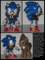 Custom Commission: Tenth Doctor Sonic by Wakeangel2001
