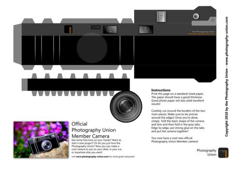 Make your own Camera by DavidVogt