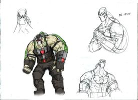 Bane SKETCH by Sabrerine911