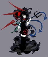 Nue Houjuu by KrackoCloud