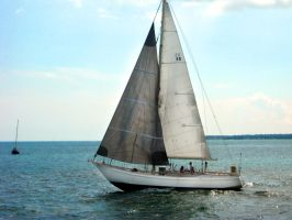 Sail Boat 4 by Jinz-stock