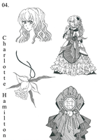 Character Design: Charlotte Hamilton by LiLy-GaRdIs