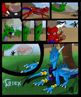Twin Fang Page: Page 3 by CriexTheDragon