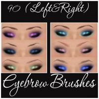 EyeBrow Brushes by Marielena