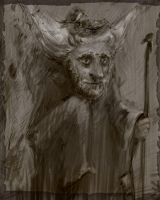 The wood grandfather by smokepaint