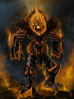 fire colossus by 7kive