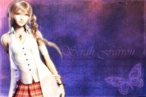 Serah Farron Wallpaper by RoxaSora714