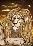 rasta lion by viktorangel1