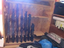 GUN RACK WIP by I-MOKH
