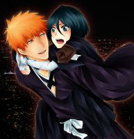 IchiRuki - Night by gone-phishing