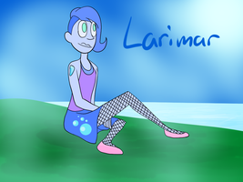 Gemsona - Larimar by CharmArtist