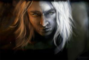 Geralt of Rivia by olivegbg