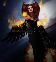 Angel of Destruction by Fae-Melie-Melusine