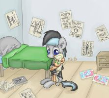 Kenny and a plushie by FinnishGirl97
