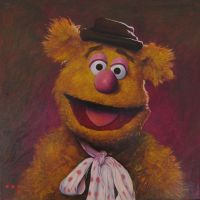 Fozzy Bear by iconicafineart