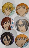 bleach buttons by scullylam