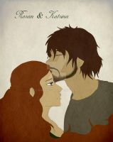 Roran and Katrina from Eragon by GamaDes