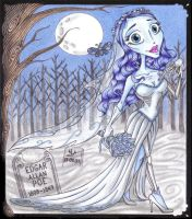 Chibi Corpse Bride by Violette-Aner