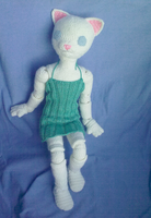 Big Crocheted BJD Annabeth by AncarianNixa