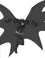 The Dark Knight Animated color by phil-cho