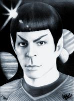 SPOCK IN PENCIL by divine-rain946