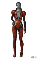 ME3 Samara the Justicar for XPS by Just-Jasper