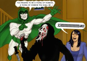 TLIID Wes Craven tribute The Spectre v Ghostface by Nick-Perks