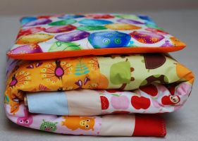 patchwork and pillow multi colour by iasio