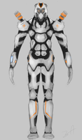 Soldier Body, Front by adimatters