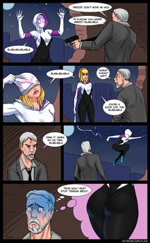 Gwen meets dad by Flick-the-Thief