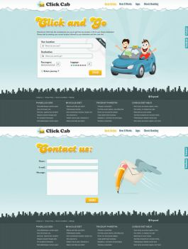 Find Cabs Landing Page by kpp0209