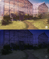 Background (Greenhouses) - VN Commission by ExitMothership