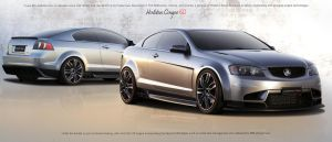 Holden Coupe 60 concept wp by X-Raited