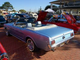 1965 Ford Mustang convertible by Partywave