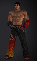 Tekken 6 - Jin Kazama by Sterrennacht