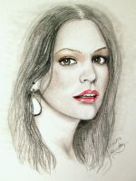 Katharine McPhee by artworksbynet