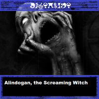 Alindogan, the Screaming Witch by Microblonde