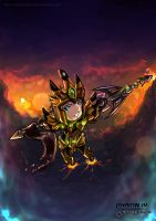 Jarvan IV: The Exemplar of Demacia by TheBookofGenesis