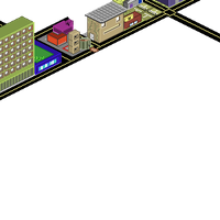 Pixel City WIP 2 by Zakiz