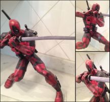Deadpool Papercraft by burps20